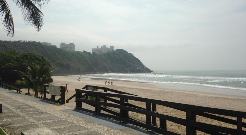 ชายหาด Apartamento Guarujá Praia do Tombo