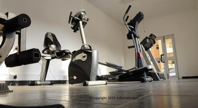 fitness centrum T.N. Hospitality Apartment Hotel