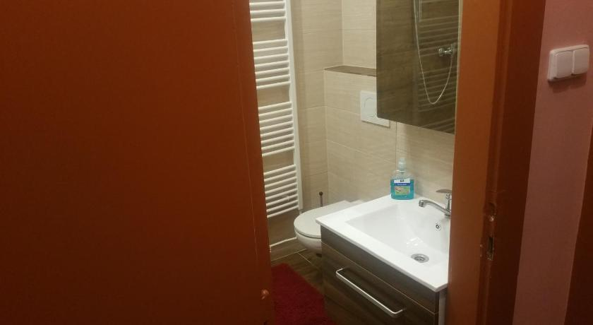 Standard Twin Room - Bathroom hotel KORUNA