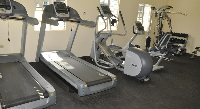 Fitness center Palm View Villas at Drax Hall
