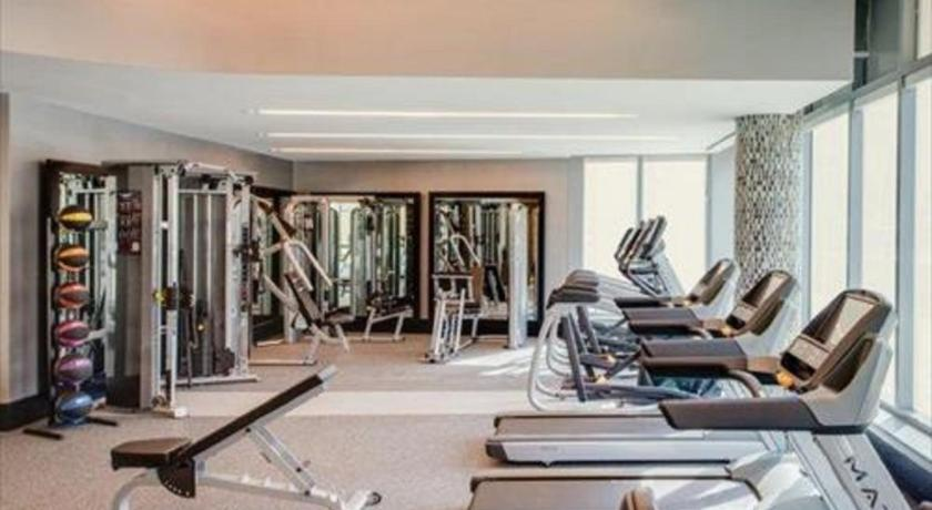 gym Global Luxury Suites at Park Crest Lofts