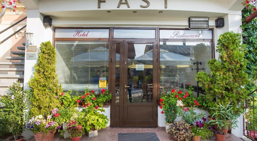 Entrance Pension Hotel Fast