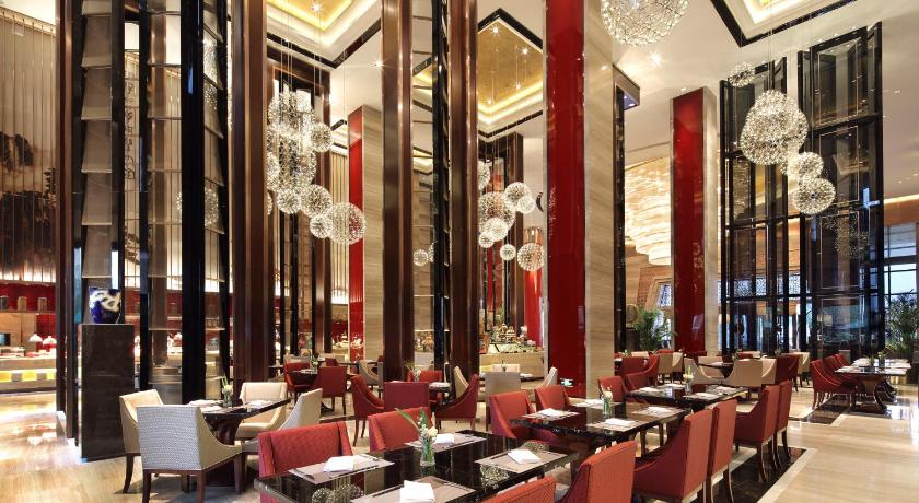 Deluxe twin rom - Restaurant Anyang Wanda Realm Hotel