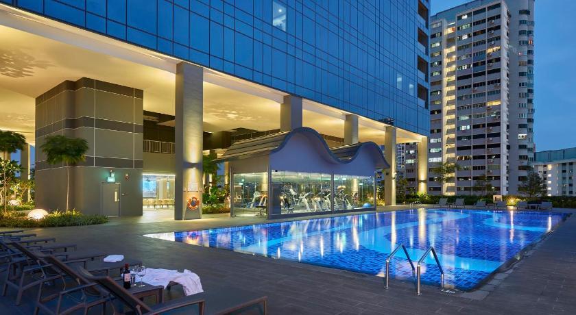 Oasia Hotel Novena, Singapore   Near Orchard Road