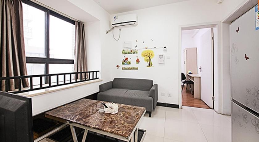 Mainland Chinese Citizens - Double Bed Suite - Sala d'estar separada Juanshutang Apartment Chengdu Main Branch
