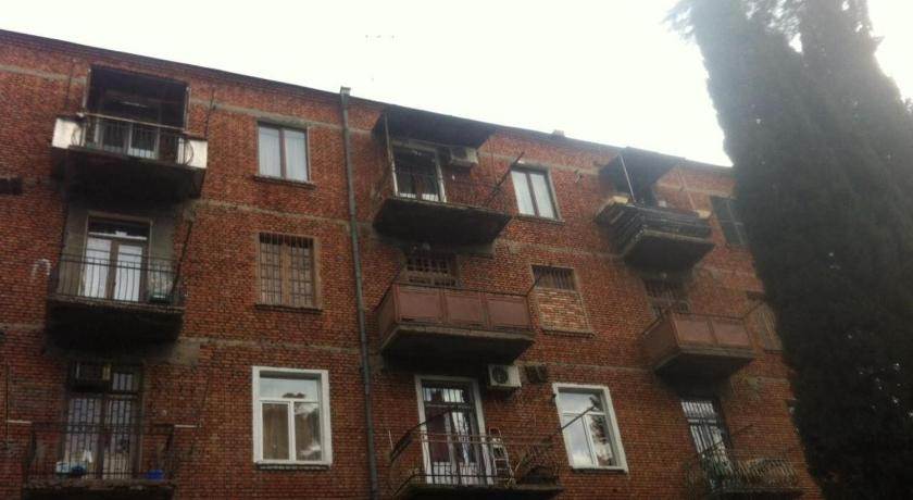 Apartment with Balcony - Exterior view Lucky Apartment Tbilisi