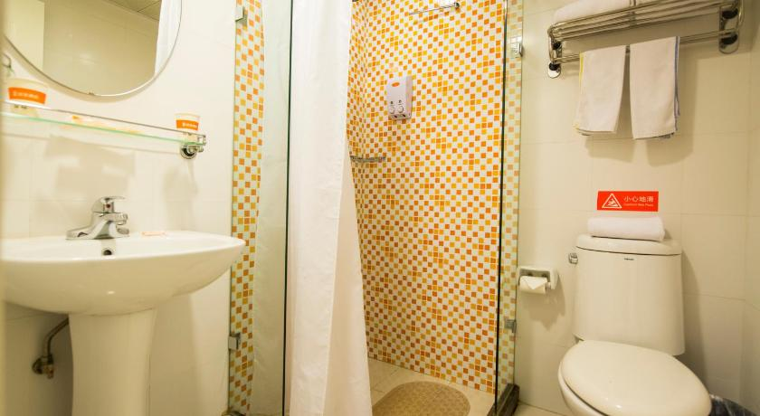 Double Room - Bathroom Home Inn Shanghai Hongqiao Beihong Road Beixinjing Metro Station