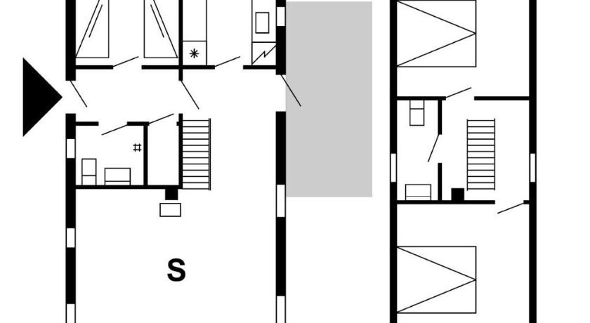 Floor plans Holiday home Ohusevej 7