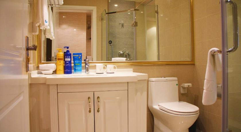 Bathroom Bedom Shengdi Service Apartment - Jiaxing Wanda Branch