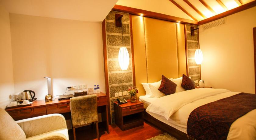 Exquisite Double Room - Bed Lijiang Xi Yuan Xi Boutique Hotel