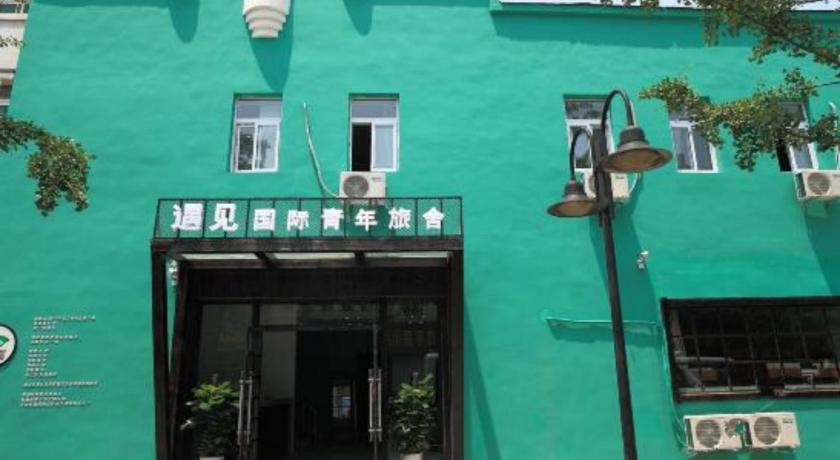 المنظر الخارجي Qingdao Meet International Hostel Zhejiang Rd Zhanqiao Branch