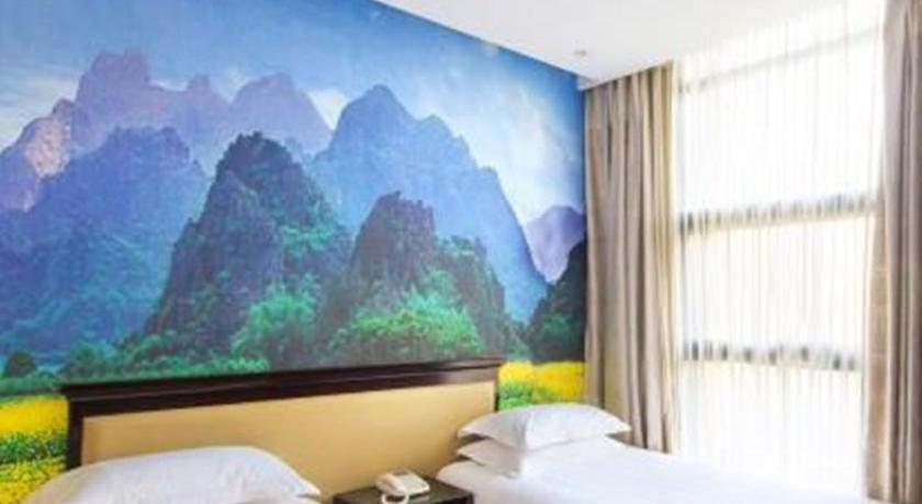 Mainland Chinese Citizens -Twin Room - Gæsteværelse Chatinn Hotel Wulin Square
