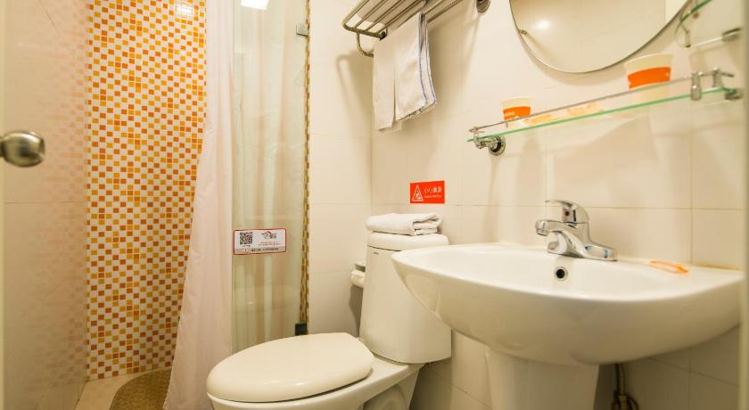 Mainland Chinese Citizens - Business Queen Room - Bathroom Home Inn Shijiazhuang West Yuhua Road Provincial Goverment Office