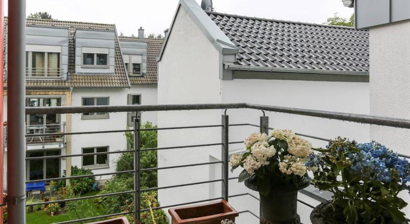 Balcony/terrace The Apartment Bonn