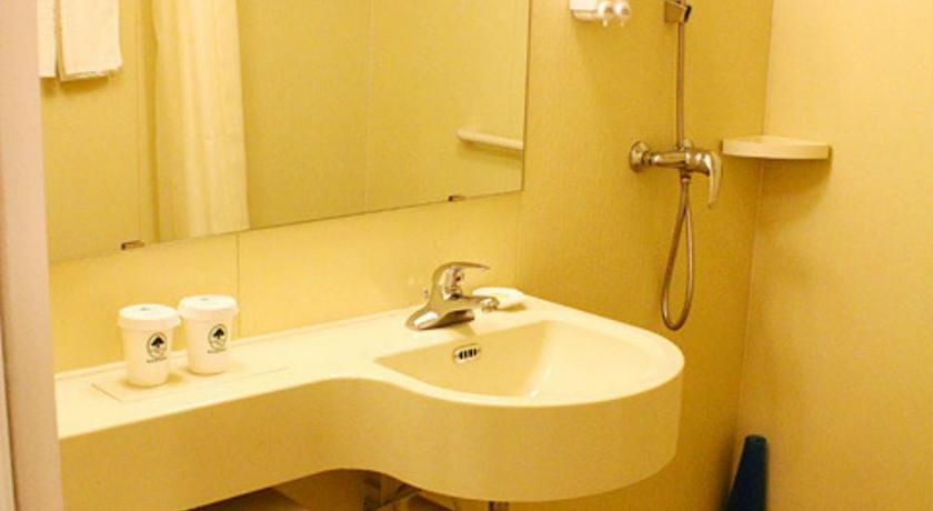 Bathroom GreenTree Inn Shanxi Jinzhong JieXiu Railway Station Express Hotel