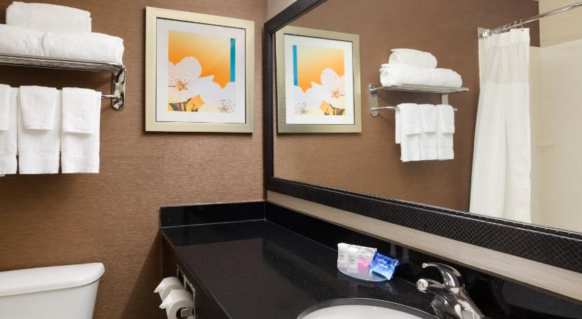 Badezimmer Fairfield Inn & Suites Minneapolis St. Paul/Roseville