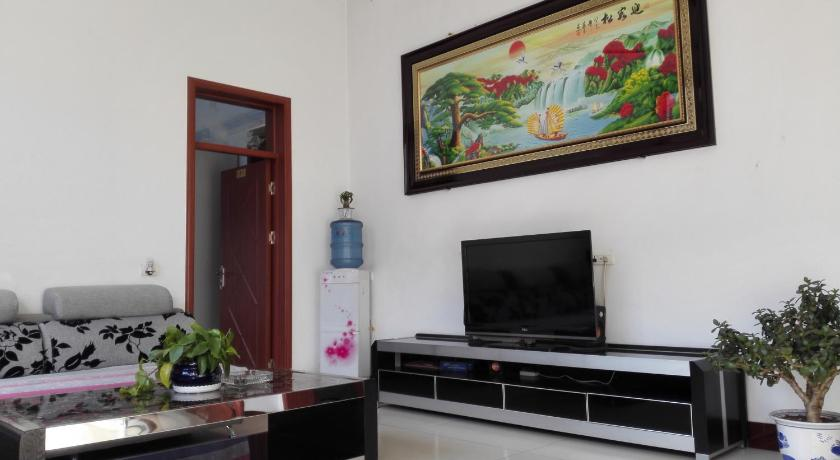Separate living room Pingyao Jinrong Homey Inn