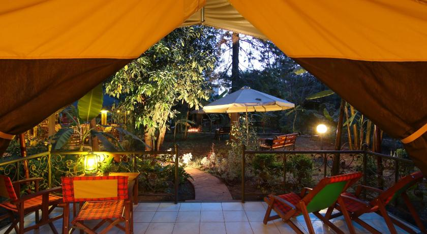 Balkon Anga Afrika Luxury Boutique Camp Nairobi