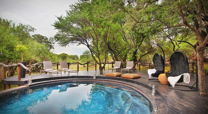 Bazén Itaga Luxury Private Game Lodge