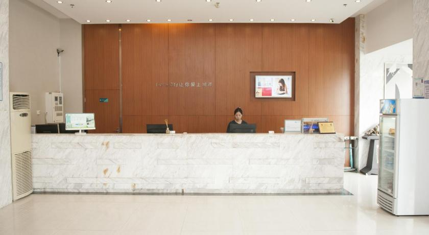 Lobby City Comfort Inn Wuhan Tunkou Fengshu 2nd Road Baijinguan
