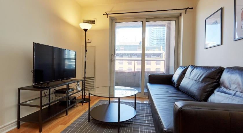Superior Lägenhet med 1 sovrum - Fritidsfaciliteter Atlas Suites Furnished Apartments- Rogers Center, Downtown Toronto