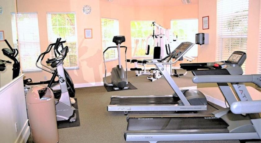 gym South Facing Vacation Home 81Fp96