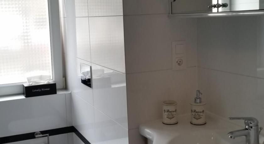 Bathroom niceapartments White