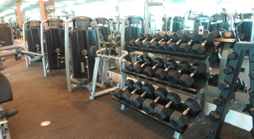 gym Luxury Unit on the Strip