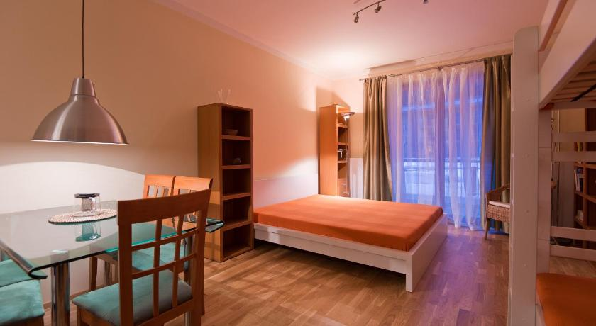 غرفة الضيوف Apartment Medvědín 408