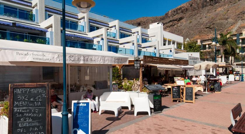 Apartment with Sea View - Restaurant BeachFront Apartment Mogán MB