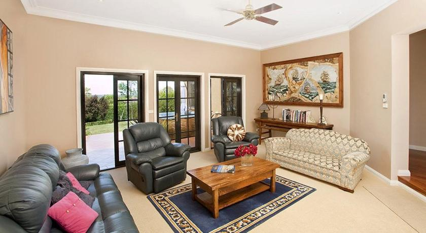 Separate living room Stately Bowral Designer Home
