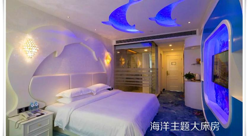 Four Seasons Double Room - Krevet Zhuhai Silver Bay Hotel