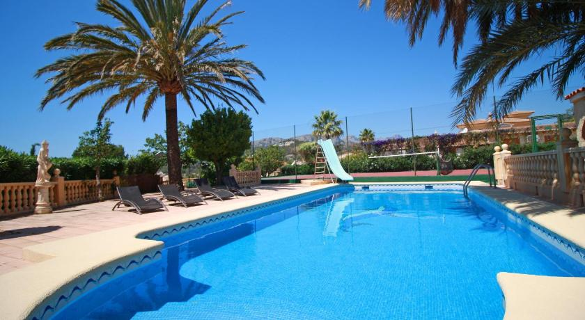 Swimming pool Villas Costa Calpe - Tenis Janka