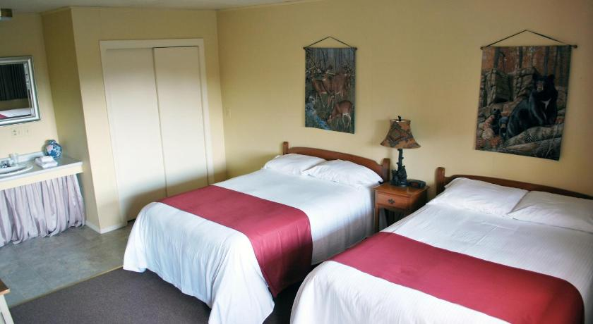 Standard Room with Two Double Beds - Guestroom Burkehaven Lodge