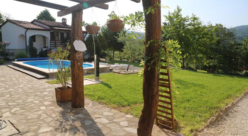 Swimmingpool Villa Glavini