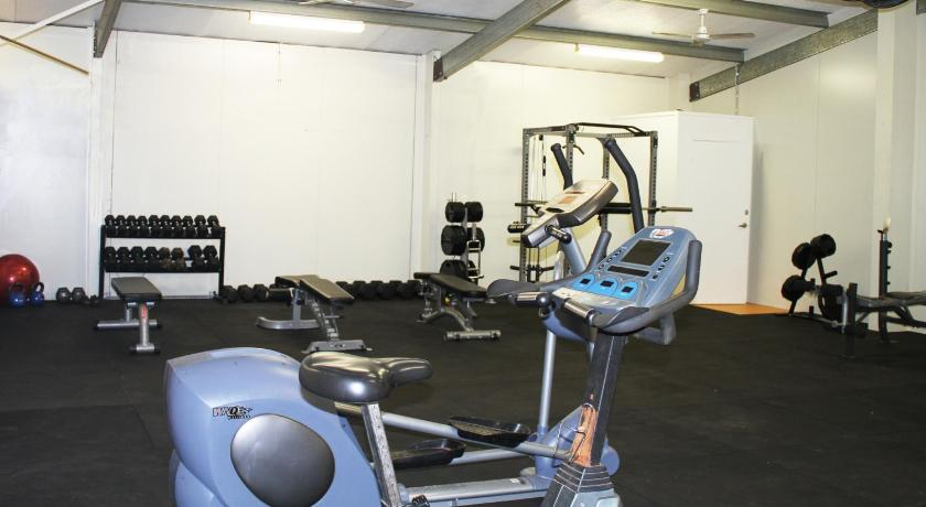 Fitness center AAOK Moondarra Accommodation Village