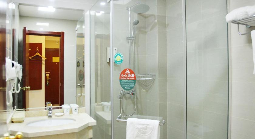 Bathroom Greentree Inn Chizhou Qingyang Bus Station Boyishangdongcheng Business Hotel