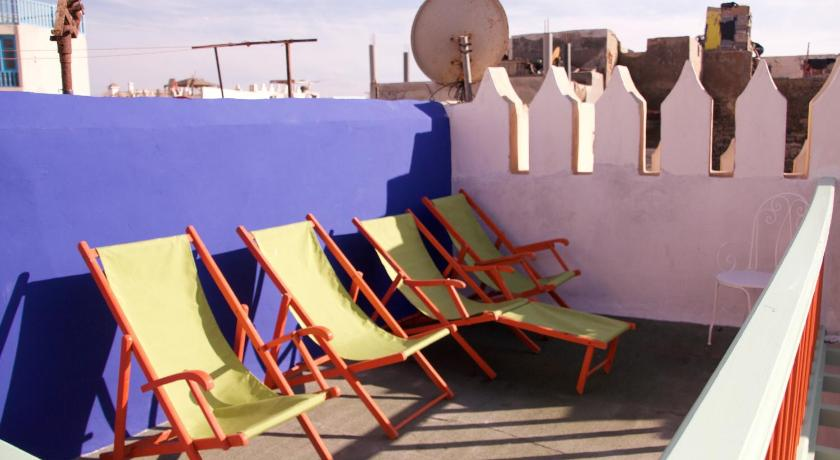 Balkon Green Milk Hostel
