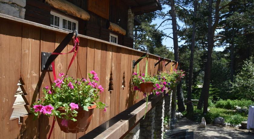 Double or Twin Room - Balcony/terrace Chalet Ventoux Serein - Chambres d'hôtes
