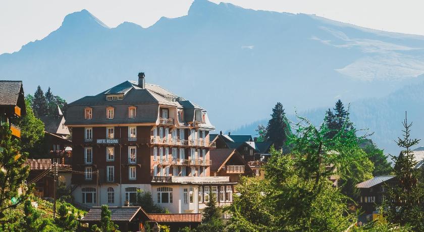 Mürren Hotel Regina In Switzerland Europe - Hotel alpina murren switzerland