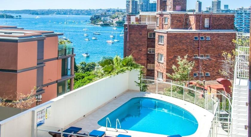 Swimming pool Rubys Room With a View @ Potts Point