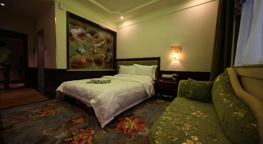 Mainland Chinese Citizen - Queen Room - Guestroom Yilong Business Hotel