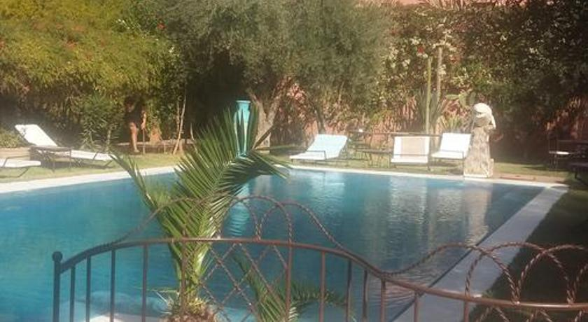 Swimmingpool Riad Dar Nouar Marrakech