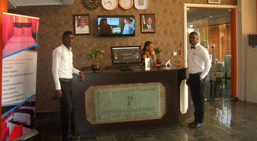 Haminton Grand Hotel and Suite