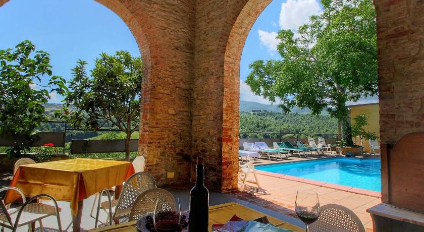 Swimming pool Holiday home Antiche Poste