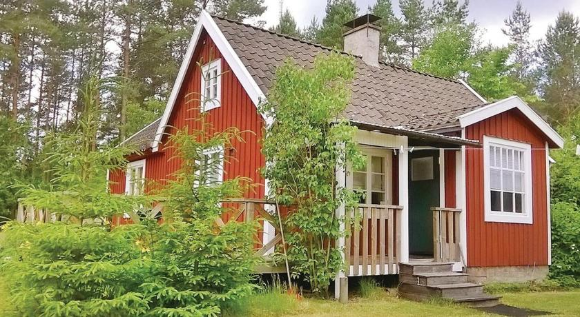 Exterior view Holiday home Holmsjö with a Fireplace 339