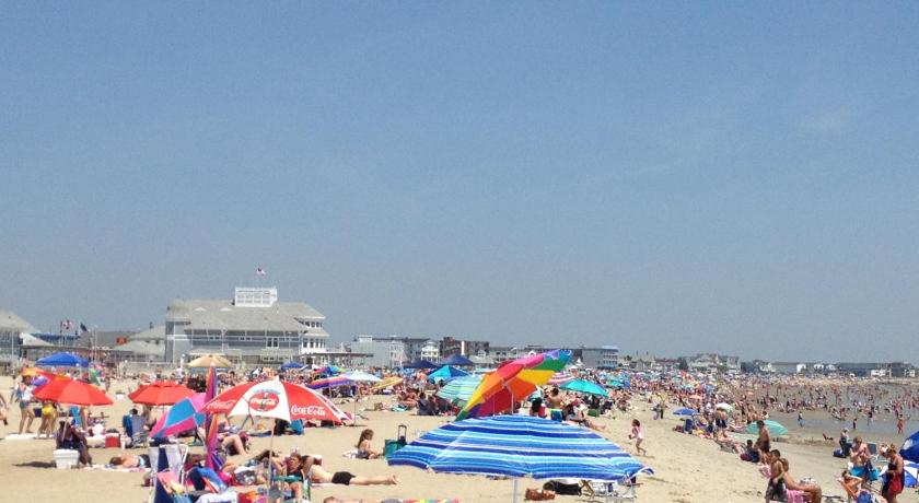 沙灘 Beachfront at Hampton Beach