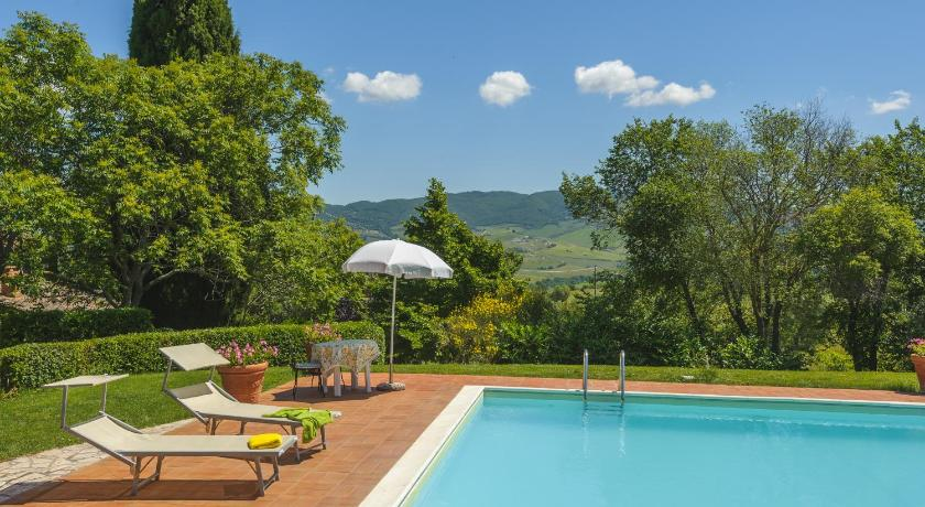 Swimming pool Podere La Montalla