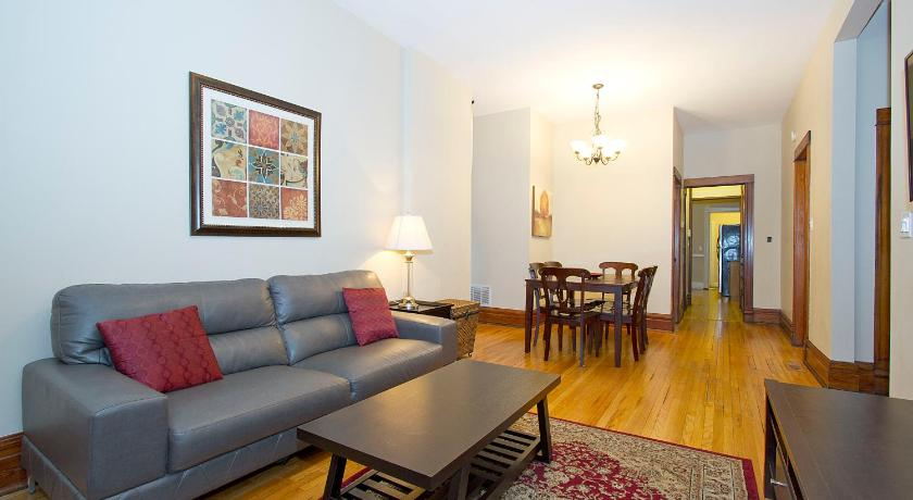 Three-Bedroom Apartment - Separate living room Three-Bedroom on N Seminary Avenue Apt 1