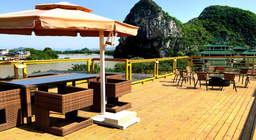 Pemandangan Guilin River View Inn